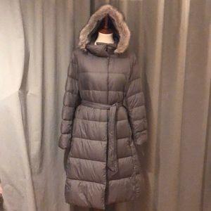 Uniqlo Down Jacket Coat Sage Large L